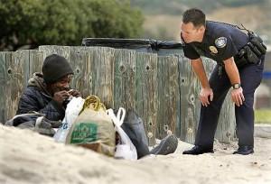 HomelessManAndCop